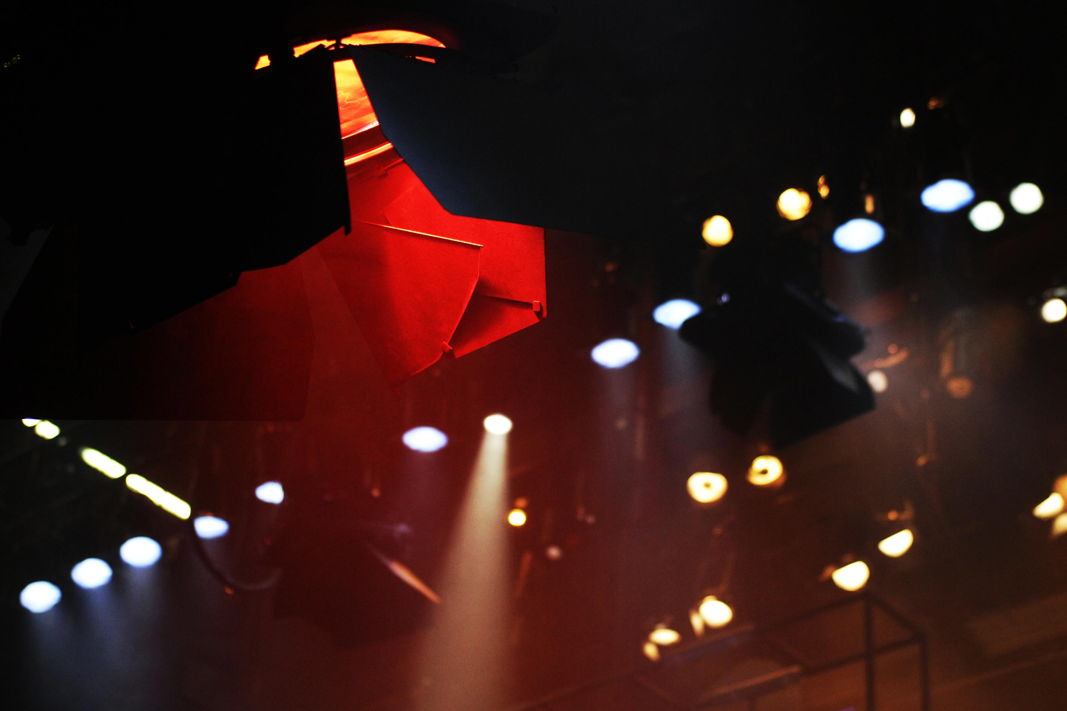 Bühnenlicht für Process; Foto: Rebecca Göttert