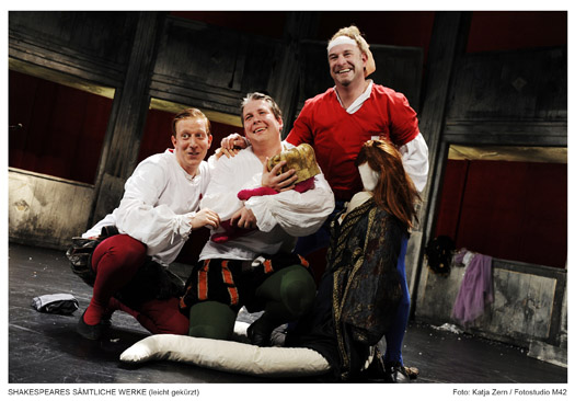 Shakespeares sämtliche Werke; Foto: Fotostudio M42