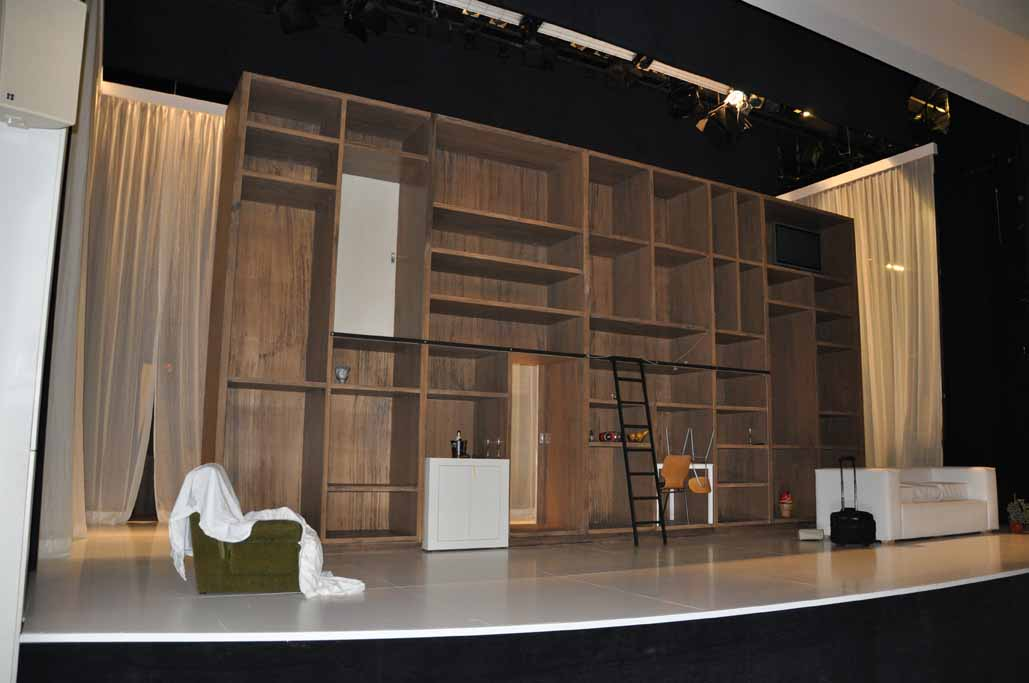 Wandregal; Foto: Theater Heilbonn