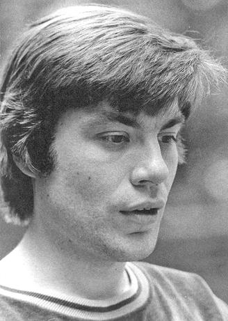 Rolf Rudolf ganz jung (1974) Foto Herbert Swoboda