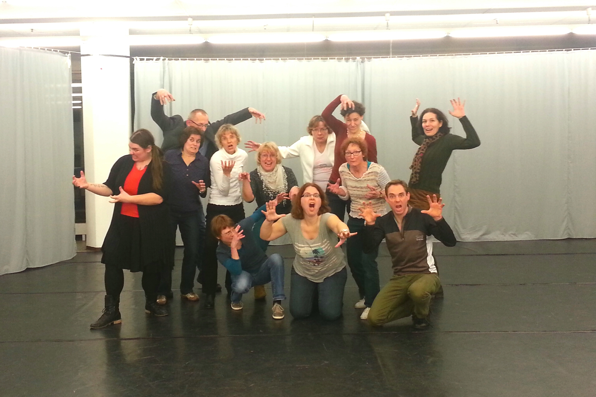 Foto Lehrerfortbildung Improvisationstheater; Foto: Clara Kuhn