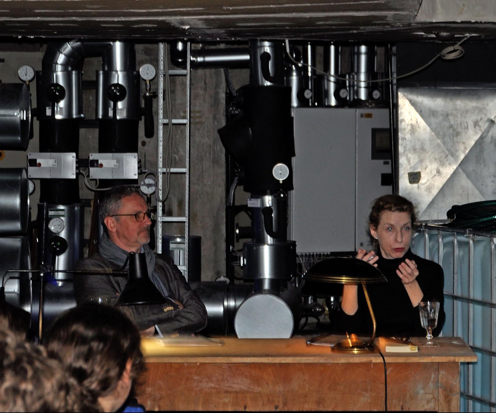 Intendant Axel Vornam und Schauspielerin Katharina Voß