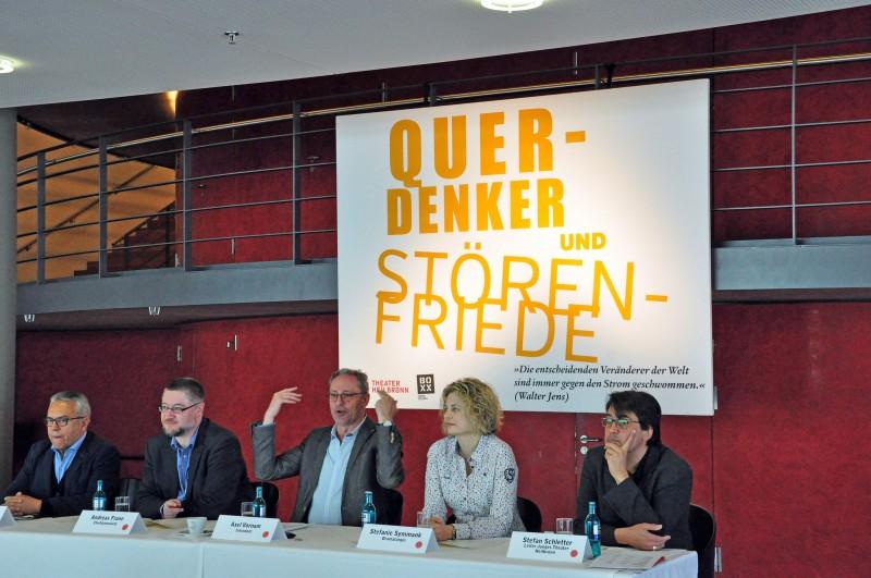 v.l. Alejandro Quintana, Andreas Frane, Axel Vornam, Stefanie Symmank, Stefan Schletter